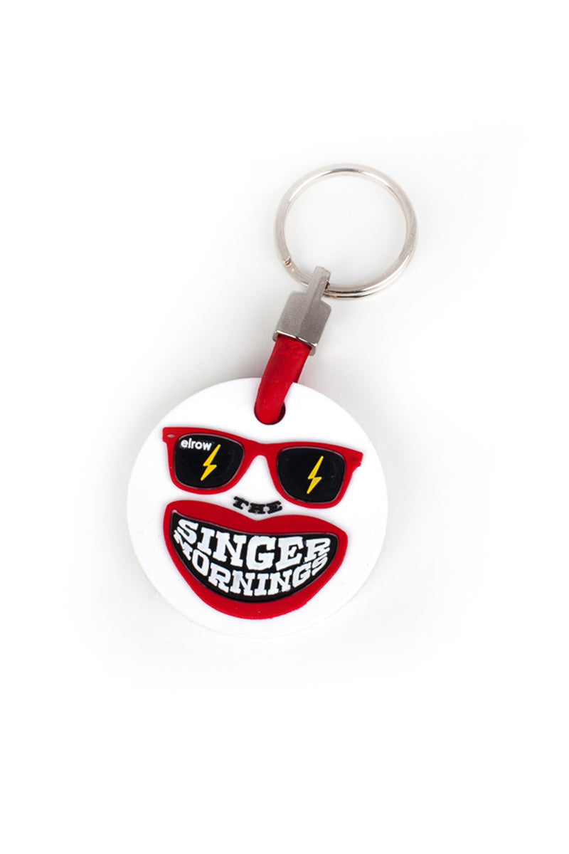 The SingerMorning Round keyring