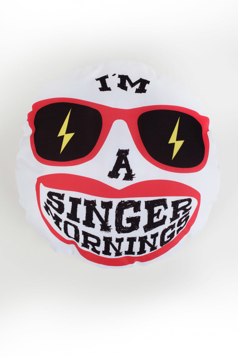 Singermorning cushion
