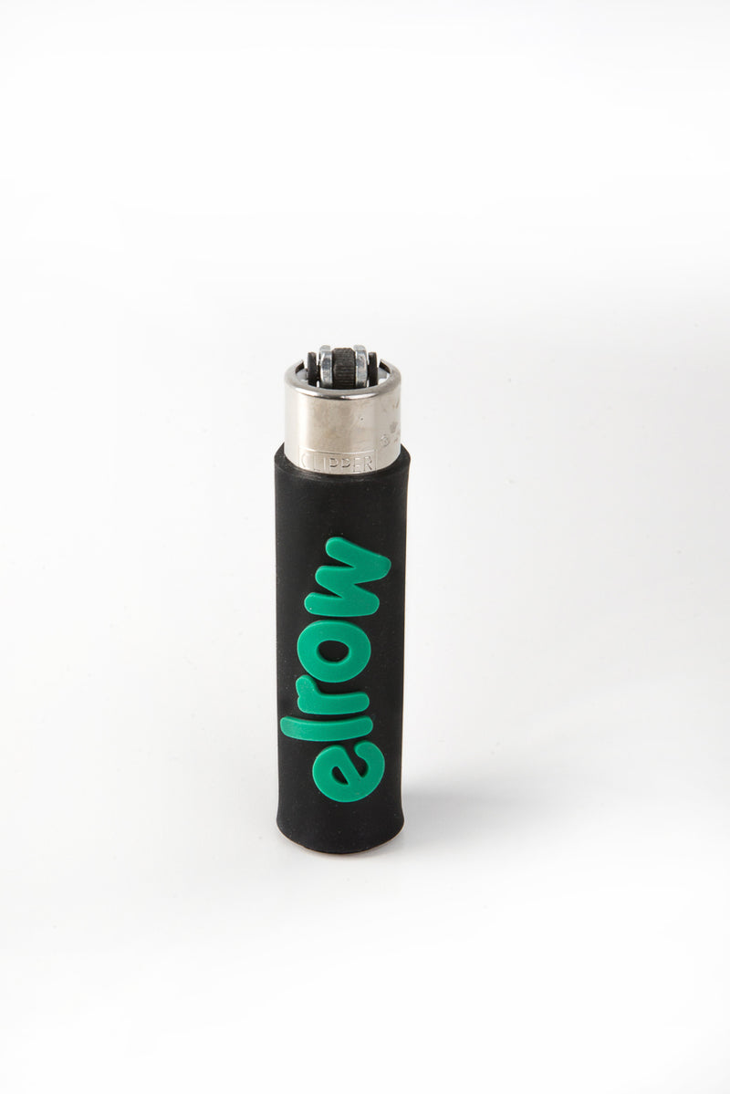 elrow black&soft green lighter