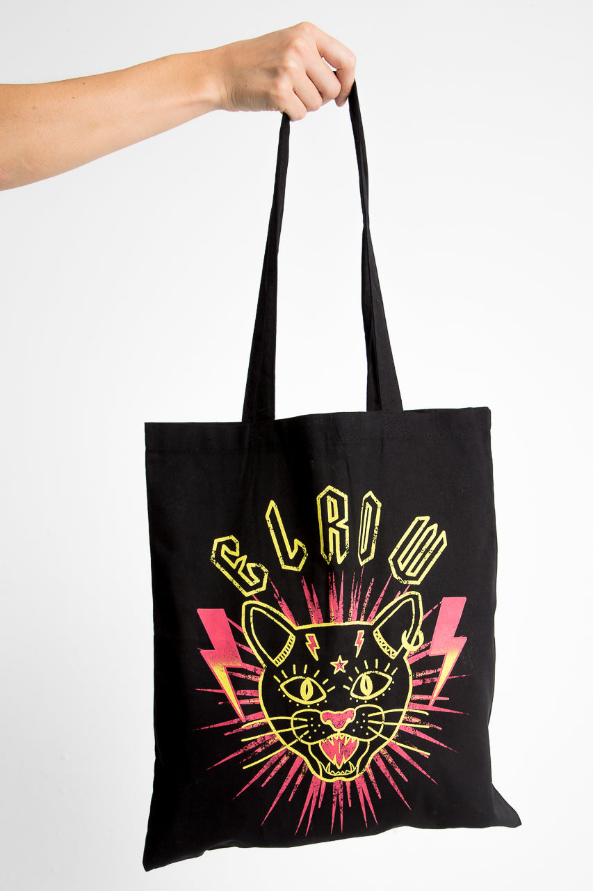 Cat-titude shopping bag