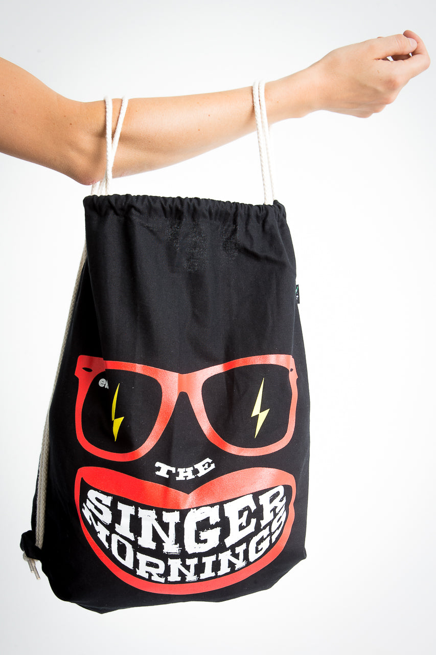 I am a singer backpack