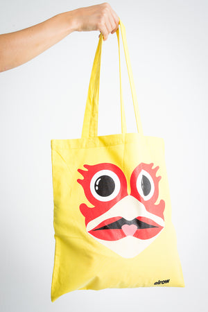 Rowgelia style shopping bag