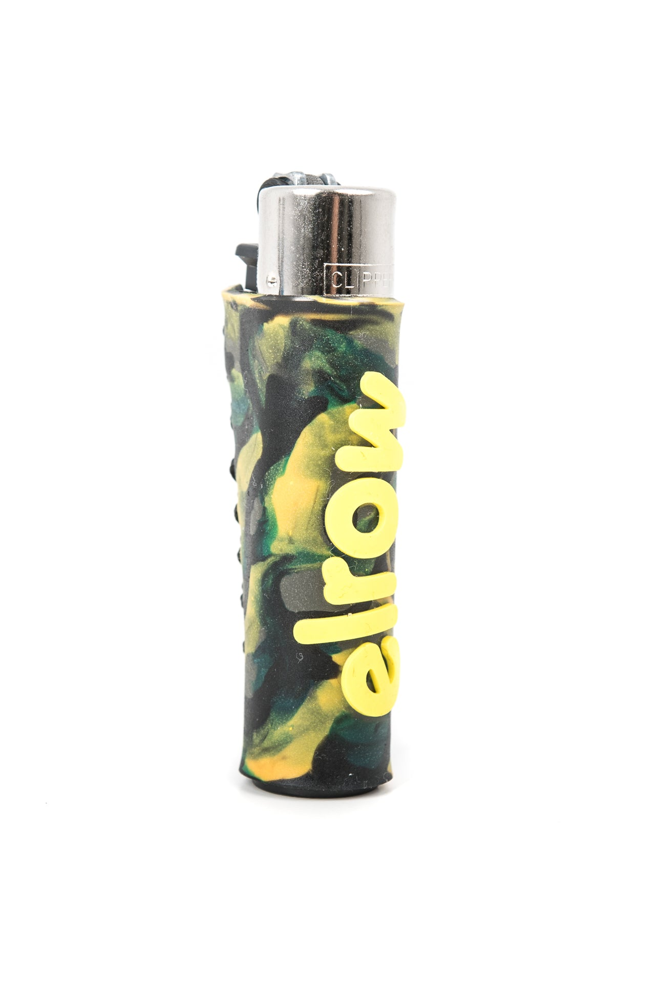 Elrow green camouflage lighter