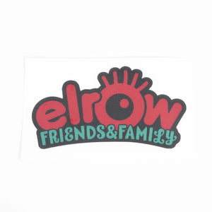 elrow friends&family red sticker