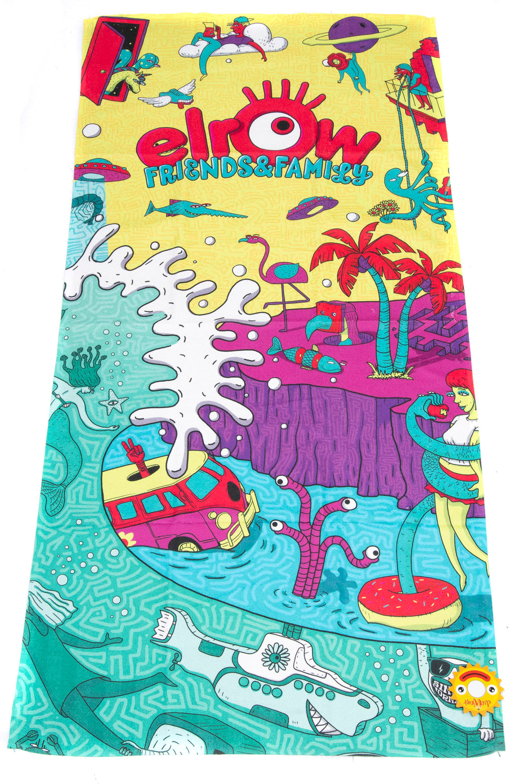 Friends & family beach towel