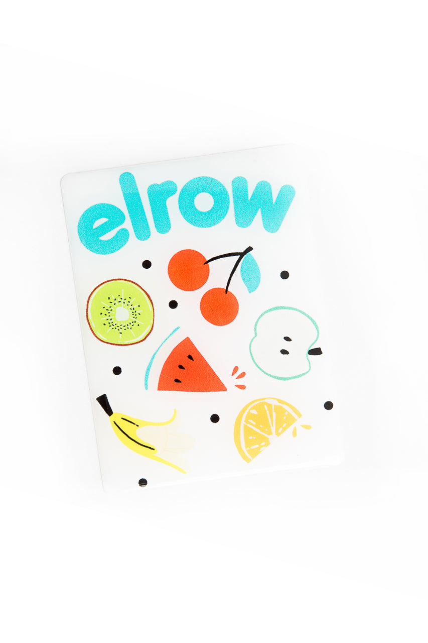elrow fruits resin sticker