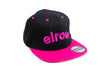 Elrow Black&fucsia hat
