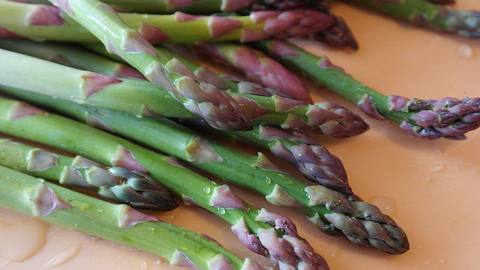 asparagus to help relieve bloating