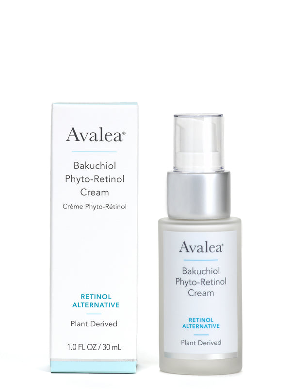 Bakuchiol Phyto Retinol Cream - Retinol Alternative Moisturizer - Avalea Skincare