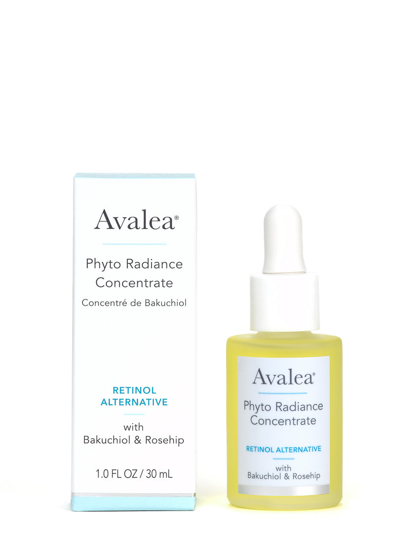 Phyto Radiance Concentrate with Bakuchiol - Retinol Alternative Smoothing Serum - Avalea Skincare