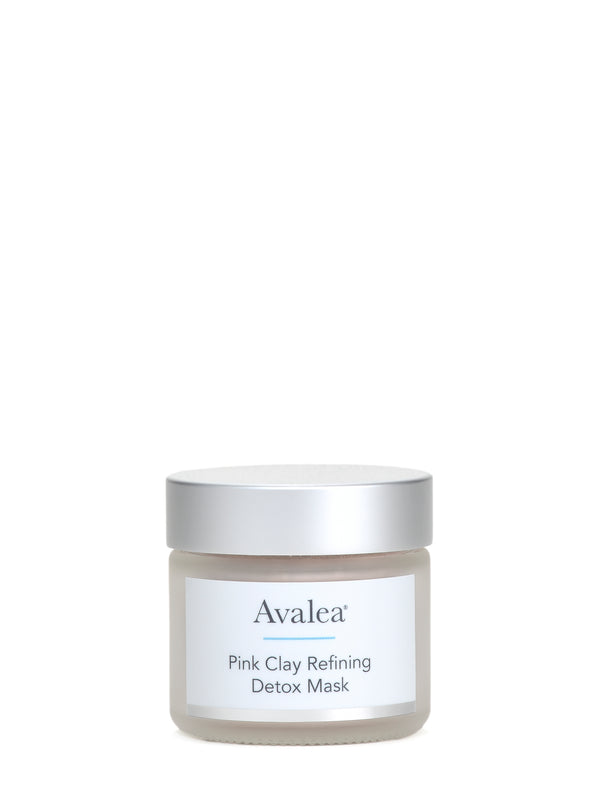pink clay refining detox mask - avalea skincare