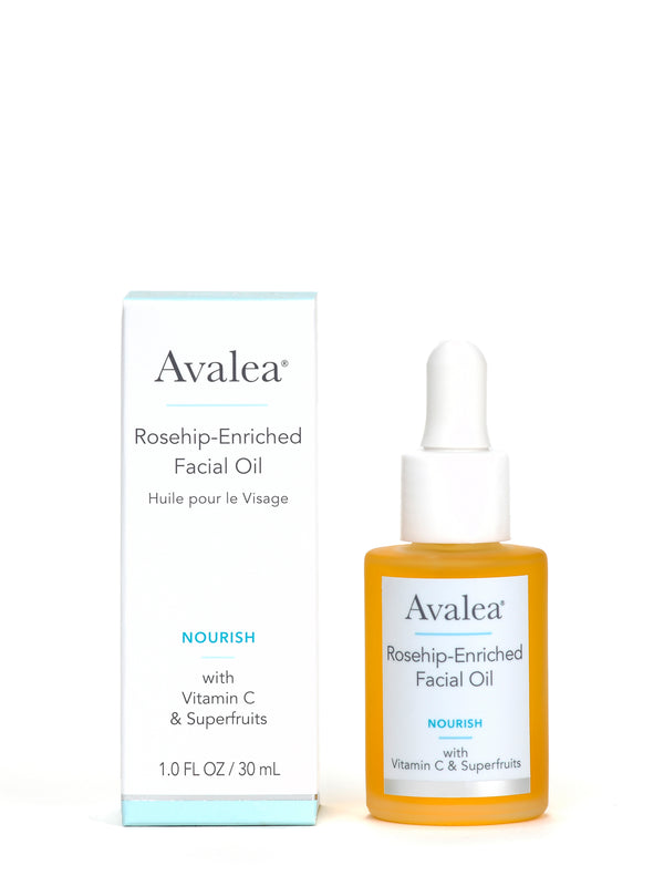 Rosehip Enriched Facial  Oil with Vitamin C and Superfruits - Avalea Skincare