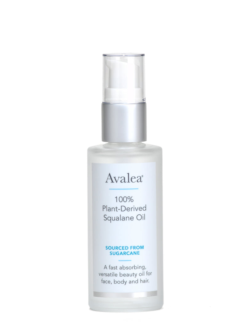 Squalane Oil Moisturizer - 100% Pure & Plant-Derived from Sugarcane - Avalea Skincare