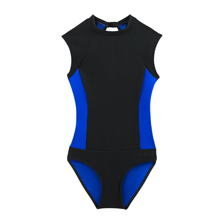 MAX Sporty & covering One-piece in Black