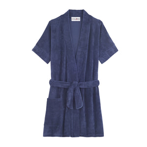 chlore swimwear ami blue piscine robe