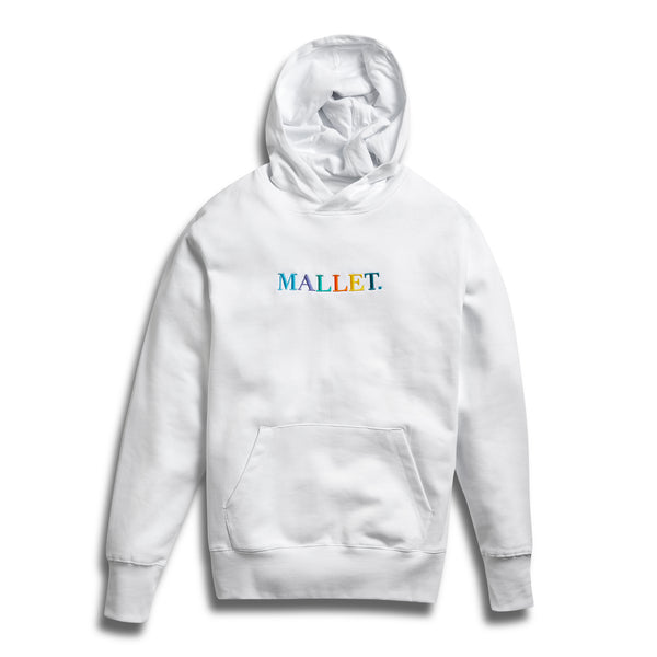 Mallet Hoodie White