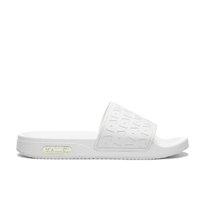 Monogram Sliders White