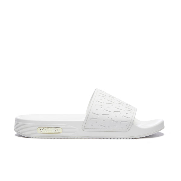Monogram Sliders Blanc