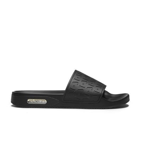 Monogram Sliders Black