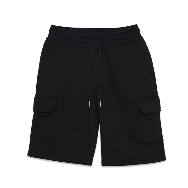 Jasper Box Logo Cargo Short Black