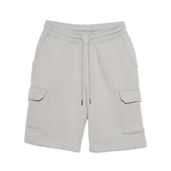Jasper Box Logo Cargo Short Grey