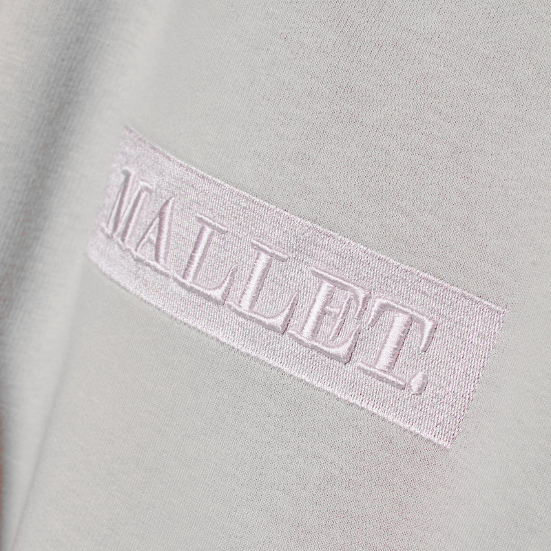 Jasper Box Logo Crew Grey