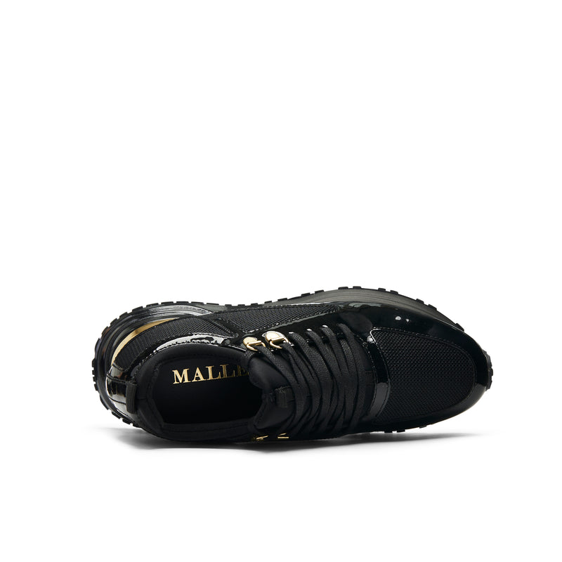 Diver 2.0 Black & Gold Patent Womens