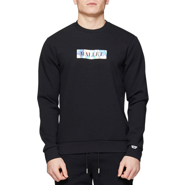 Iridescent Crew Black