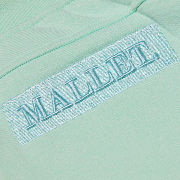 Jasper Box Logo Cargo Short Mint