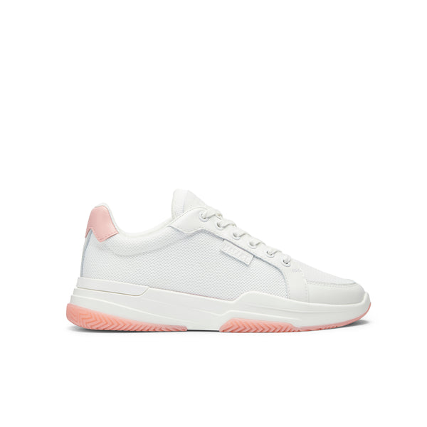 Kingsland White Mesh Pink Womens