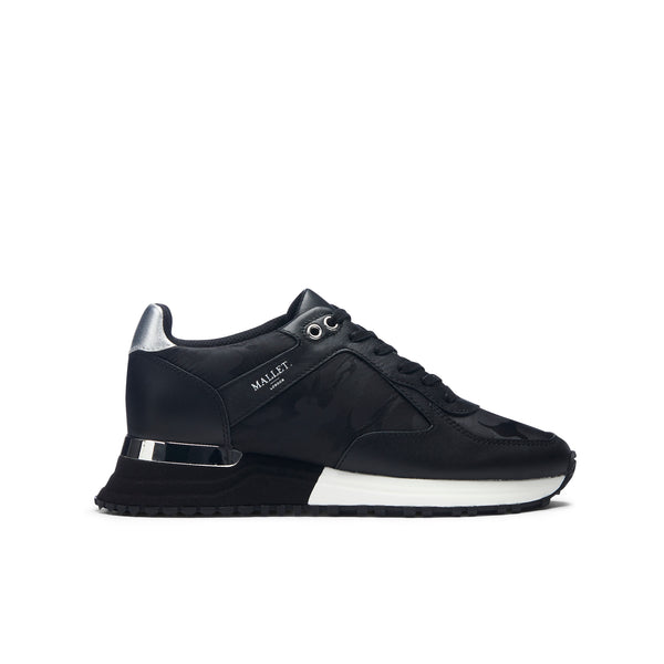 Lux Runner Black Camo Womens