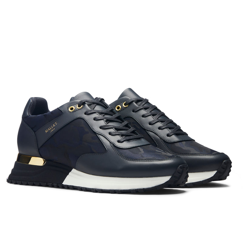 Lux Runner 2.0 Navy Camo & Gold