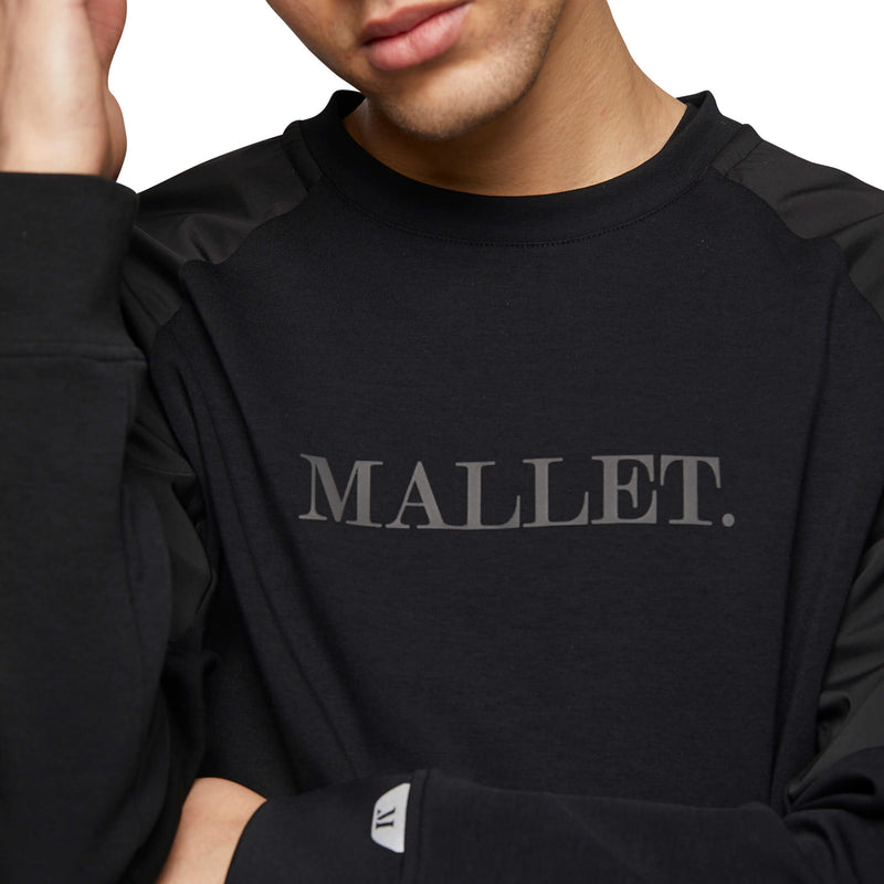 Mallet Box Logo Sweatshirt Black