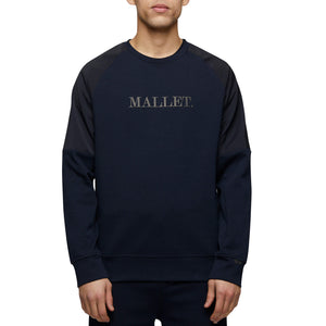 Mallet Box Logo Sweatshirt Navy