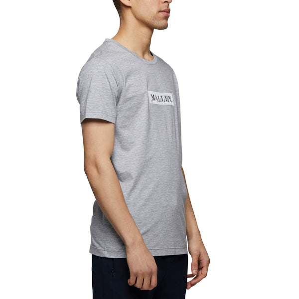 Mallet Box Logo Tee Grey