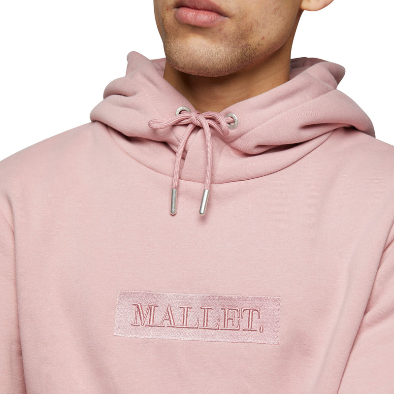 JASPER Box Logo Hood Rose