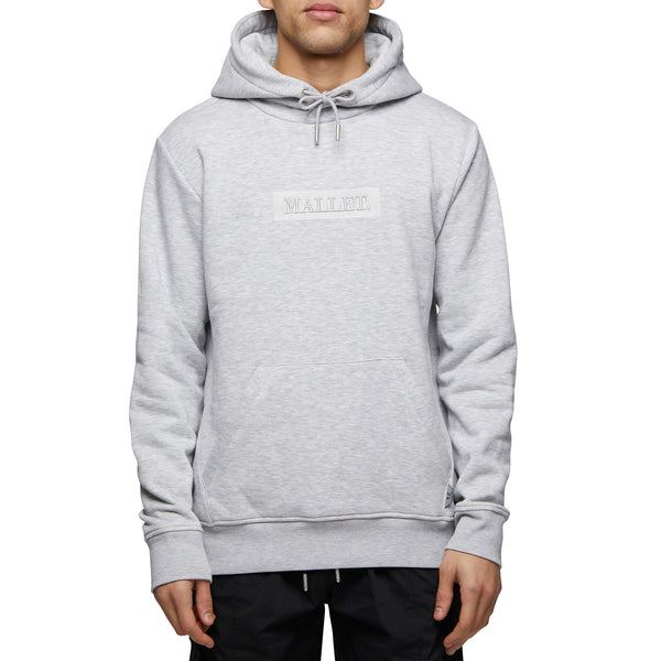 JASPER Box Logo Hood Grey