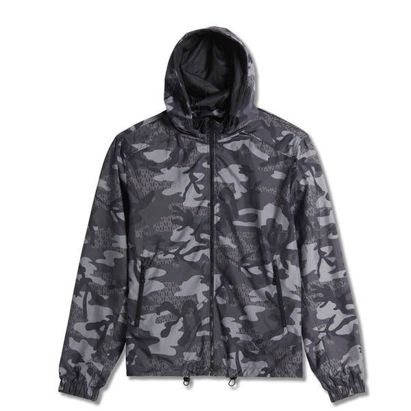 Torriano Reverse Camo Windbreaker