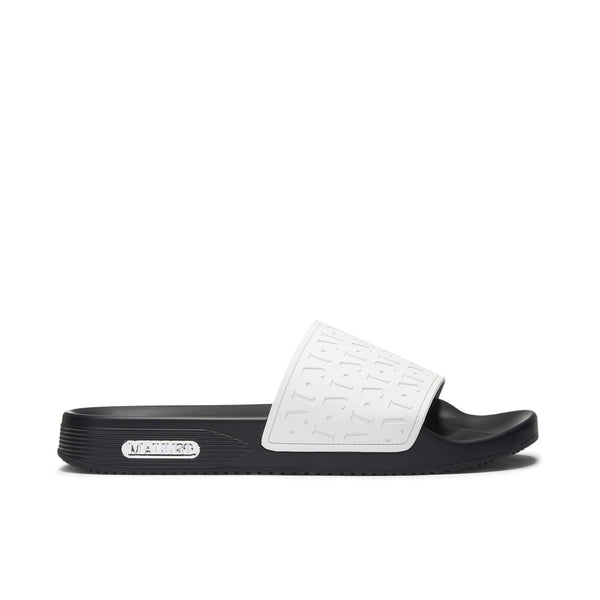 Monogram Sliders Black and White