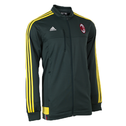 AC Milan Adidas Anthem Green Jacket