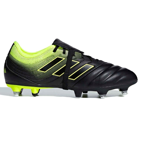 adidas Copa Gloro 19.2 SG Football Boots Mens Black/Yellow