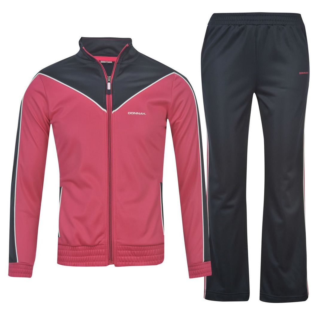 Donnay 2 Piece Soccer Football Training Tracksuit Girls