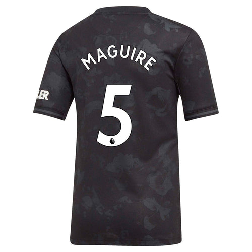 adidas Manchester United Maguire 3rd Shirt 2019 20 Juniors Black