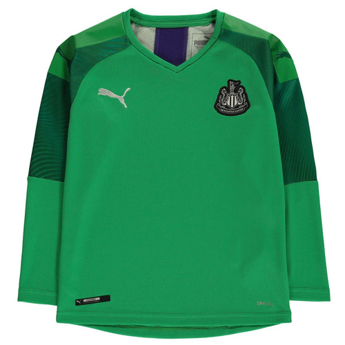 Puma Newcastle United Goalkeeper Shirt 2019 20 Juniors Green