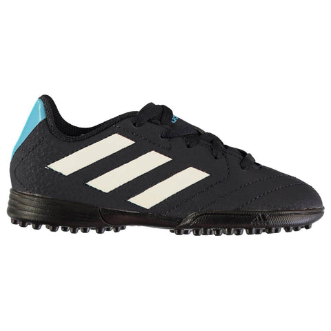 adidas Goletto TF Football Boots Child Boys Black/White