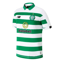 New Balance Celtic Brown Home Shirt 2019 20 Mens White/Green
