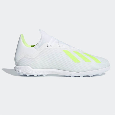 adidas X Tango 18.3 Astro Turf Football Boots Mens White/Yellow