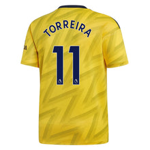 adidas Arsenal Torreira Away Shirt 2019 20 Juniors Yellow