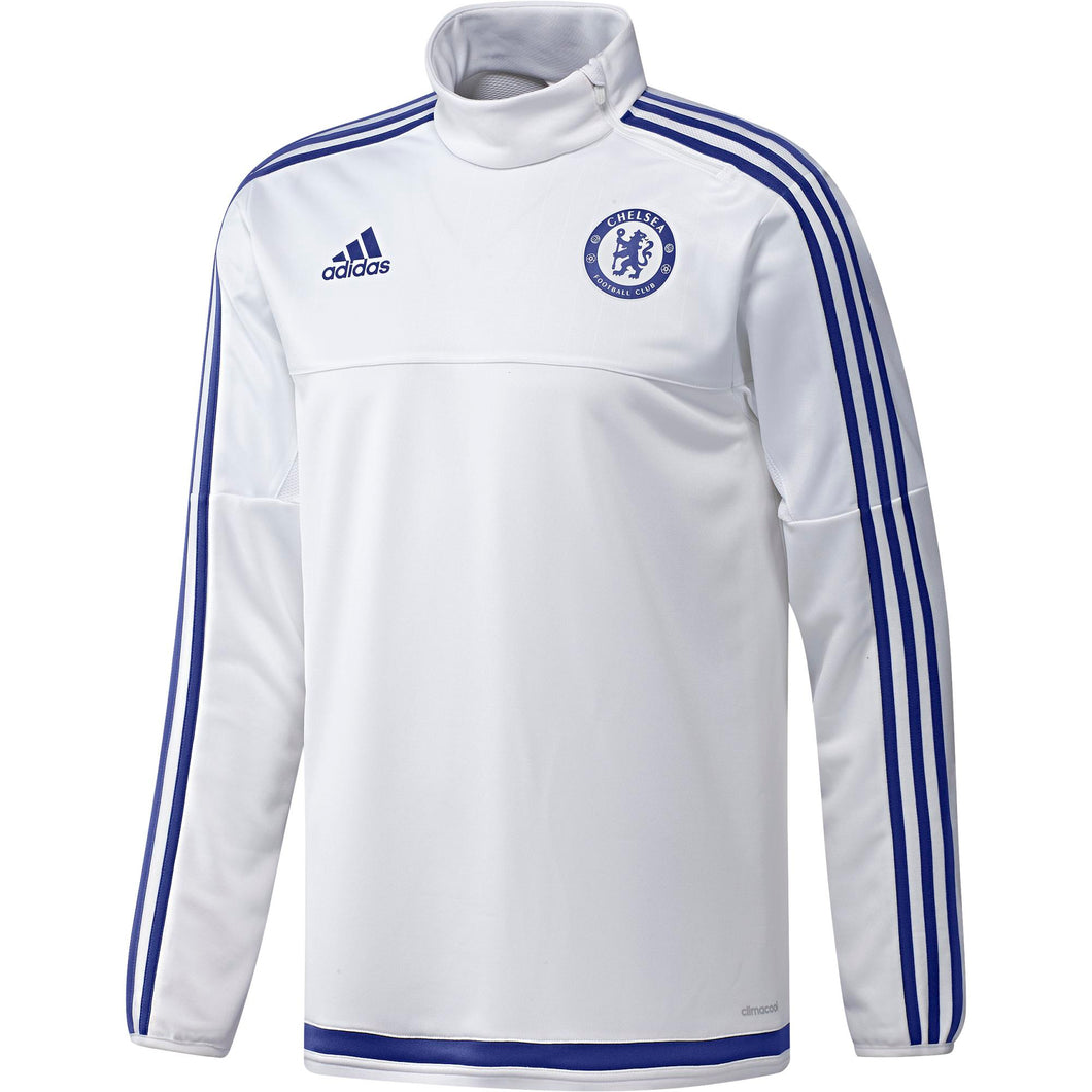 adidas Chelsea FC Training Top Mens White/Blue