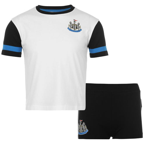 Newcastle United Mini Training Kit Black/White Infants